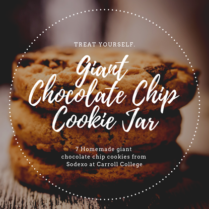 Giant Chocolate Chip Cookies Jar