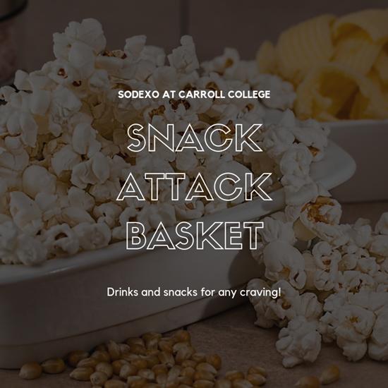 Snack Attack Basket Popcorn