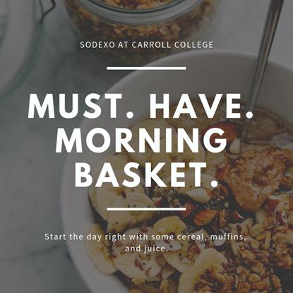 Must Have Morning Basket