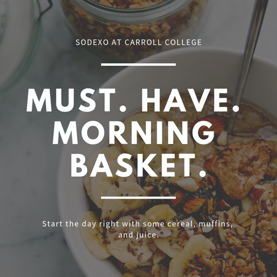 Must Have Morning Basket